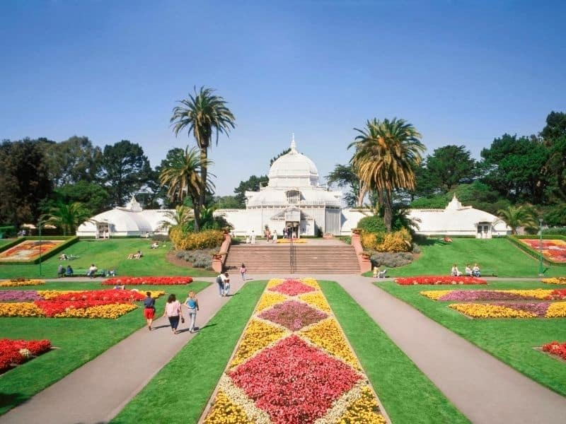 the conservatory of flowers in sf
