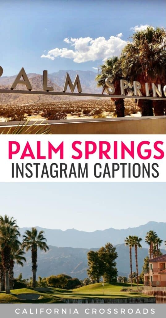 Planning to visit Palm Springs? Here are some great Palm Springs captions ideas, Palm Springs quotes & more!  Palm Springs Instagram guide | Palm Springs outfit | Palm Springs bachelorette | Palm Springs aesthetic | Palm Springs architecture | Palm springs style | Palm Springs travel | Palm Springs photography | Instagram spots in Palm Springs | Palm Springs photoshoot | things to do in Palm Springs | Palm Springs pool