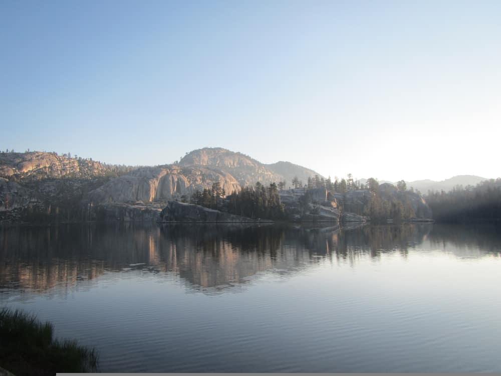 View of Lake in Yosemite