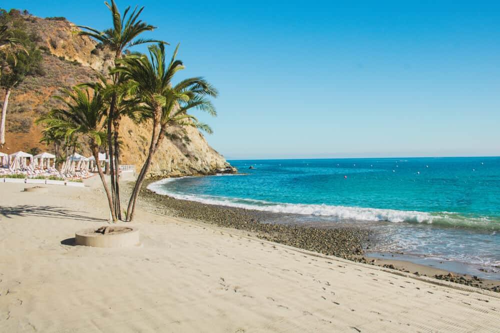 the beach at catalina island