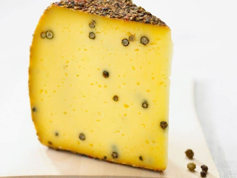 black peppercorn cheese