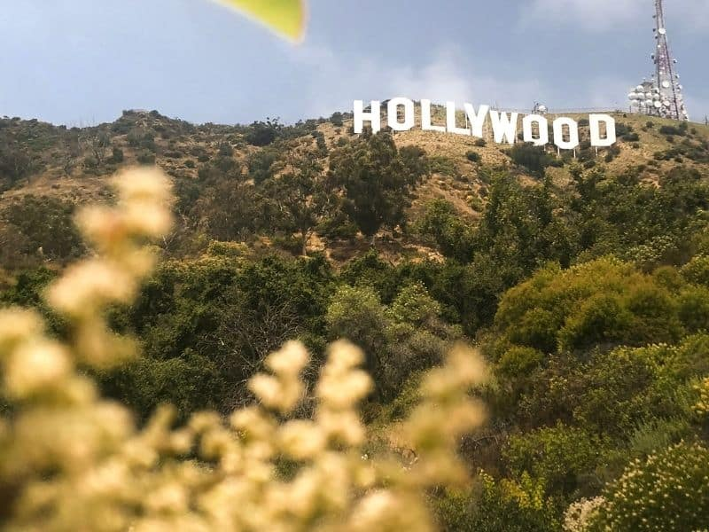los angeles hollywood sign a popular date destination in la