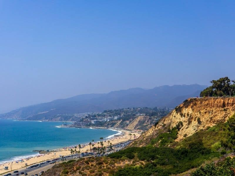 the neighborhood of pacific palisades is a fun la day trip