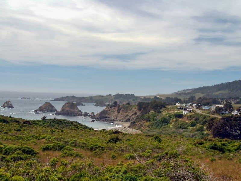 houses in elk california on the beach