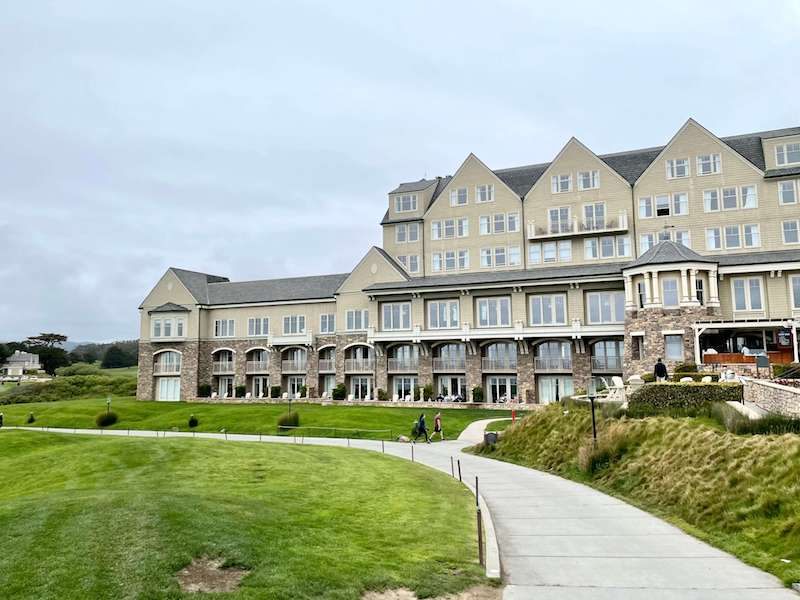 The magnificent oceanfront property of the Ritz Carlton in Half Moon Bay