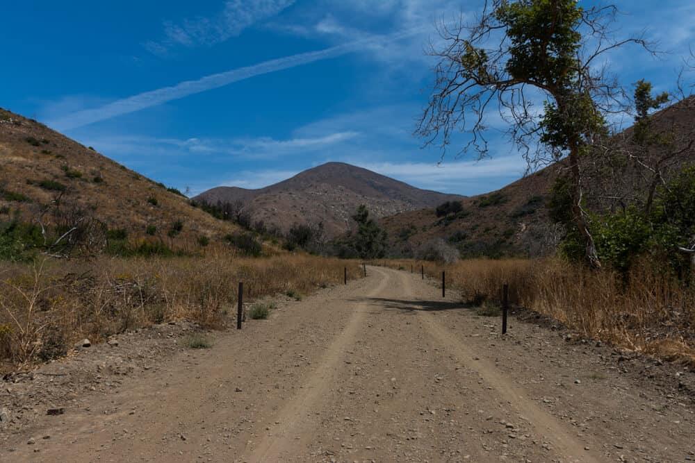 Santa Monica Mountains near Point Mugu