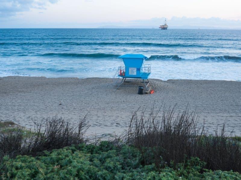bolsa chica state beach in orange county camping