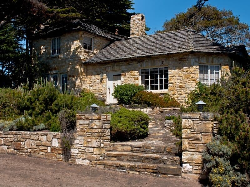 cute stone cottage in carmel-by-the-sea
