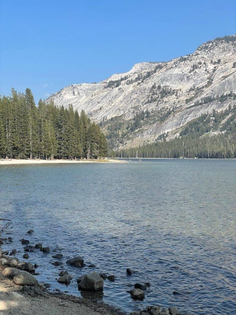 the waters of tenaya lake in yosemite np