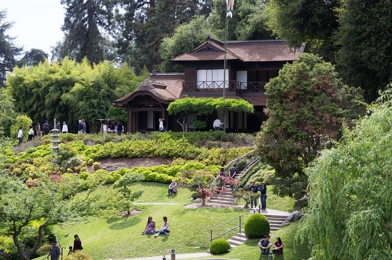 entrance to the huntington garden japanese garden